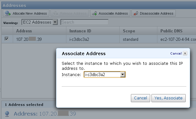 how to keep ec2 ip address